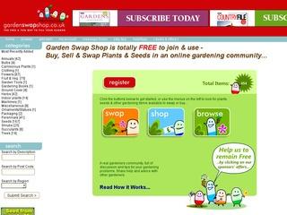 garden swap shop